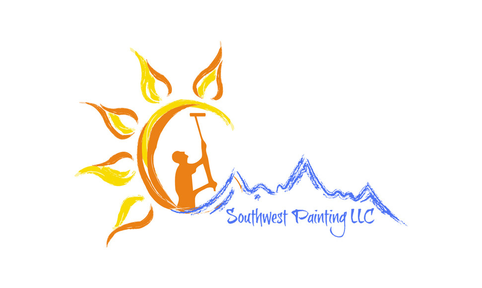 Southwest Painting Text Logo