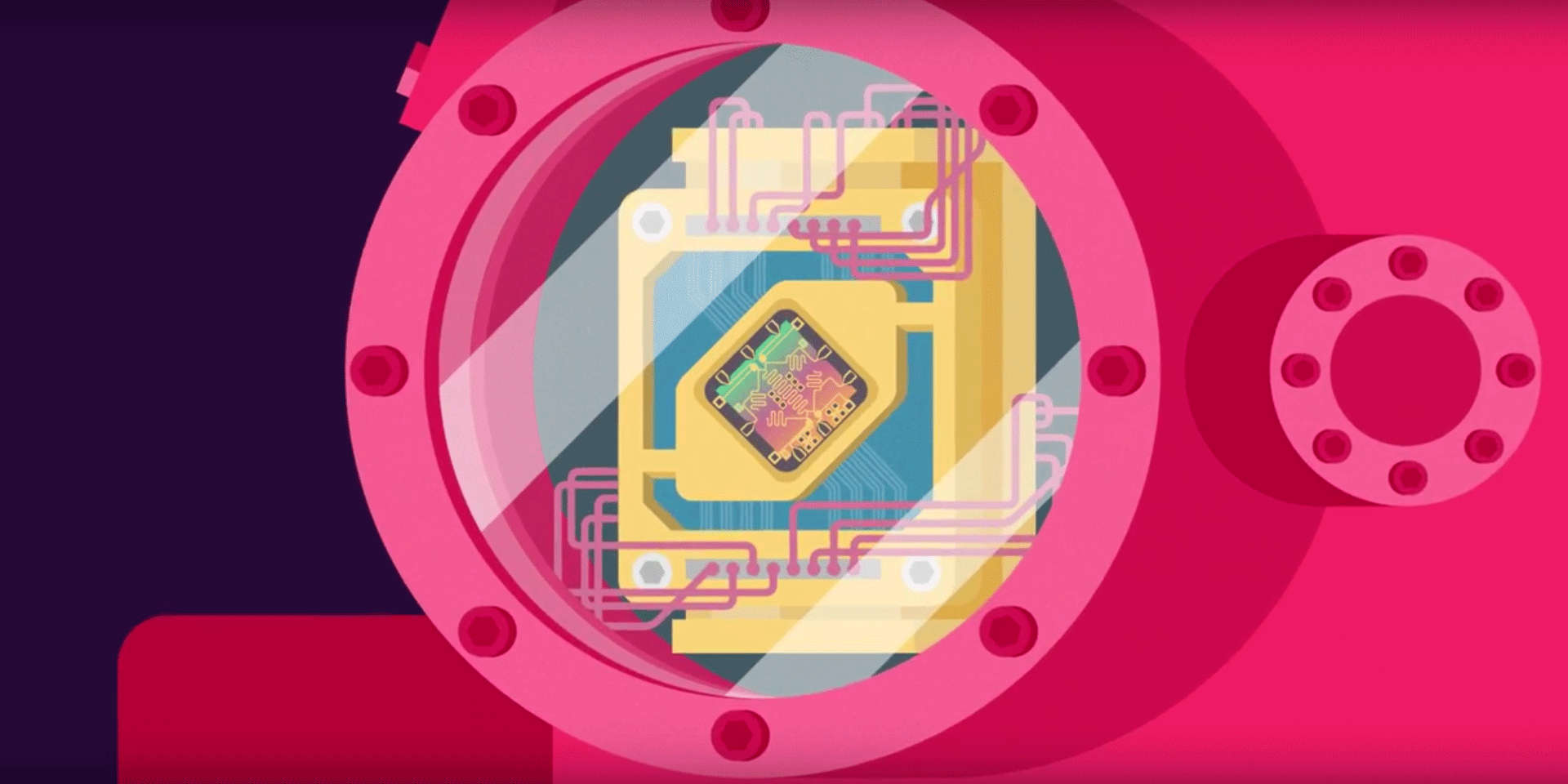 Quantum Computer Banner