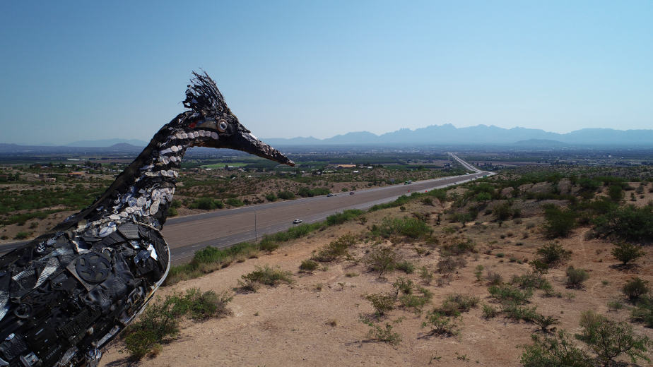 Organ-Mountains-Roadrunner-Drone-Photography-Front-View